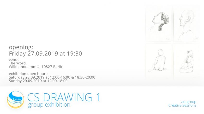 Exhibition Opening CS Drawing 1