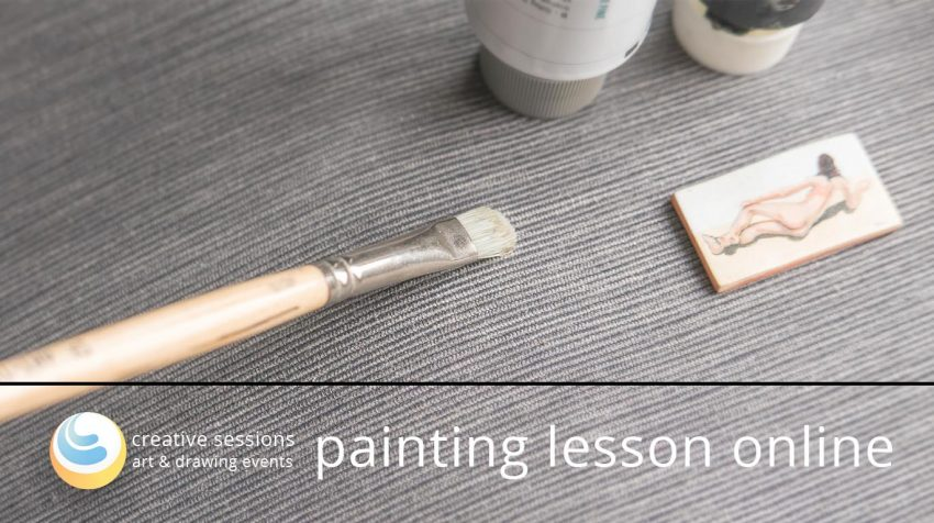 Oil Painting Lesson [Basics #3] – Free