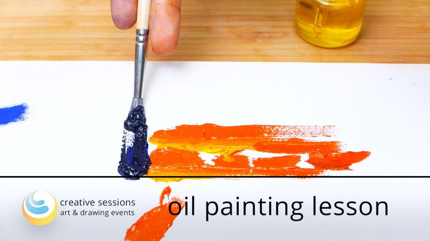 Oil Painting Lesson [#4  Structuring and Layers]