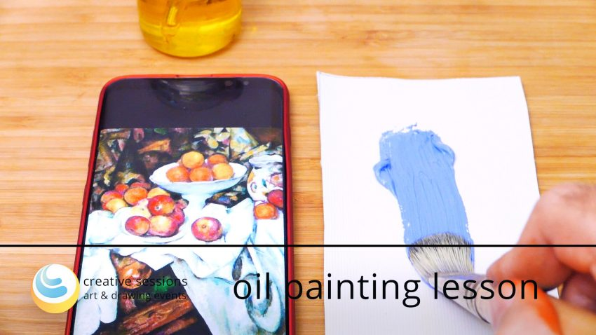Oil Painting Lesson [#6 Subject Matters]
