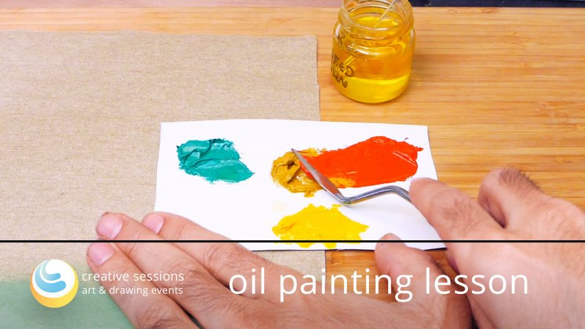 Oil Painting Lesson [#7 Color Management & Hues]