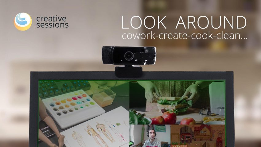 Look Around – Create, Cowork, Cook, Clean…