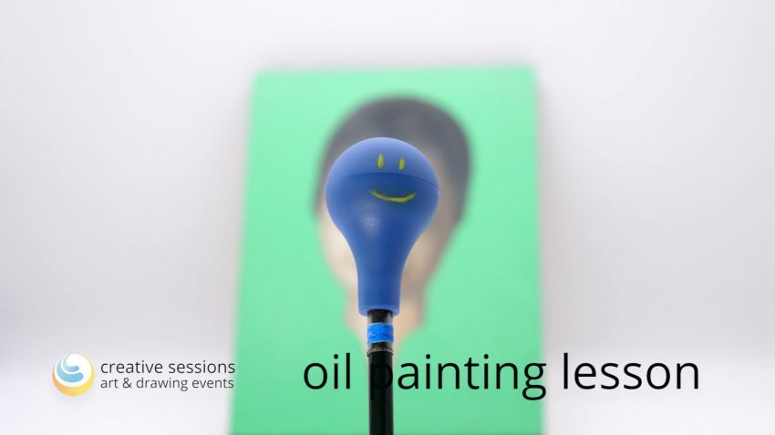 Oil Painting Lesson [#10 Face & Balance]
