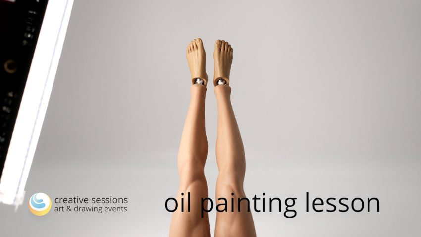 Oil Painting Lesson [#11 Plasticity]
