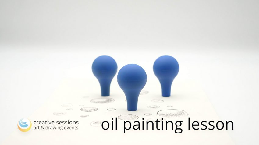 Oil Painting Lesson [#8 Objects in Space]