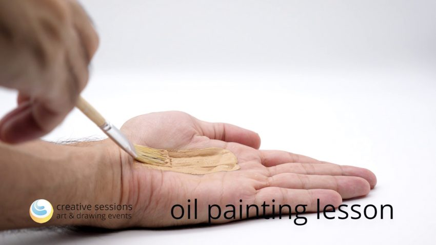 Oil Painting Lesson [#9 Skin & Flesh]