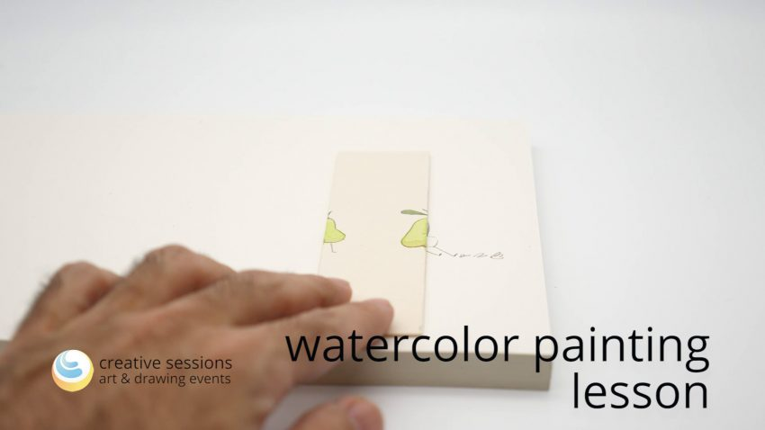 Watercolor Painting Lesson [#5 Working with Studies]