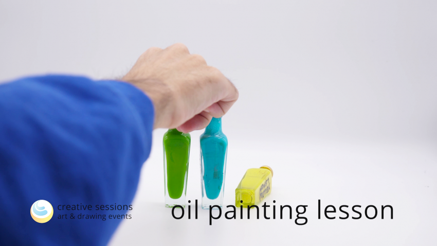 Oil Painting Lesson [#12 Form Balance]