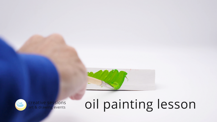 Oil Painting Lesson [#13 Repetition of Forms]