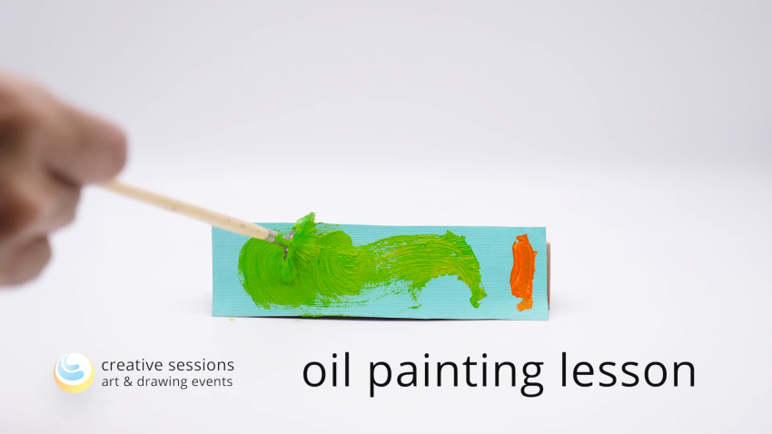 Oil Painting Lesson [#14 Focus & Sharpness]